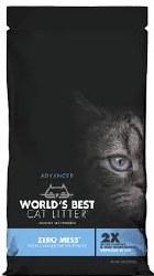World's Best - Clumping Cat Litter - Zero Mess - 12lb