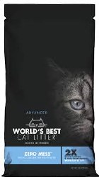 World's Best - Clumping Cat Litter - Zero Mess - 6lb
