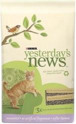 Yesterday's News Soft Texture Unscented Cat Litter - 13lb
