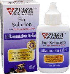 Zymox - Ear Solution - 1.25 oz