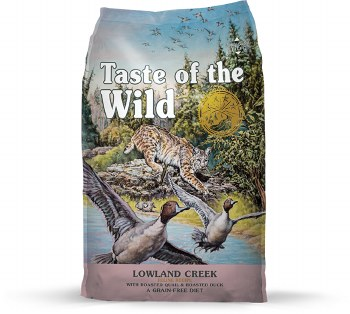 Taste of the Wild - Lowland Creek - Dry Cat Food - 5 lb