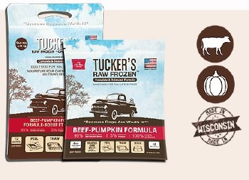 IN STORE PICK UP ONLY - Tucker's - Beef-Pumpkin - Raw Dog Food - 6 lb