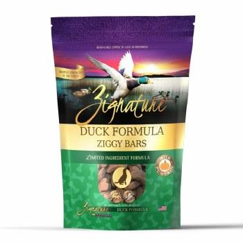 Zignature - Ziggy Bars - Duck Formula - Crunchy Dog Treats - 12 oz