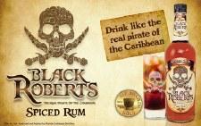 Black Roberts Gold Rum 1.75l