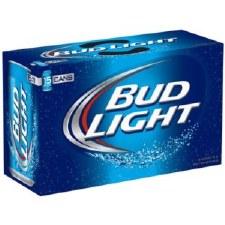 Bud Lt 15pk Cans