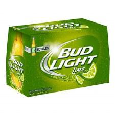 Bud Lt Lime 18pk