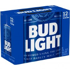 Bud Lt 12pk 8oz Can