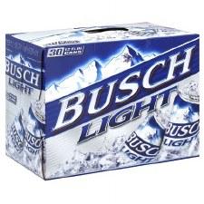 Busch Lt 30pk