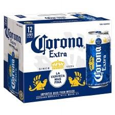 Corona 12pk Cans
