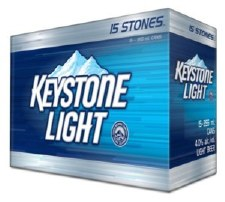 Keystone Lt  15pk Cans