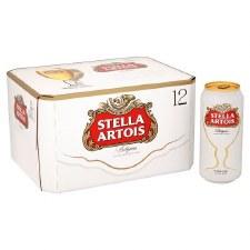 Stella Artois 12pk Cans