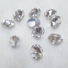 Diamond Stone-Oval 5X10-10 pcs/DA