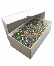 Assorted Color Ball Pins-Stanless Steel-No.20 1 1/4''