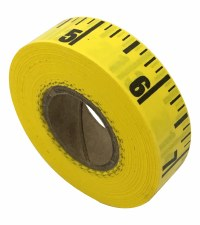 Tape Measurement-Table-Yellow-60 yds