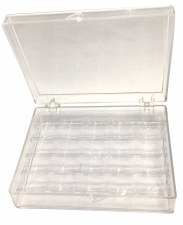 "Plastic Bobbin Box-5""x 4""x 1-1/4''"