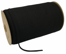 "Hanger Tape-Cotton-Black-1/4""x800 yds"
