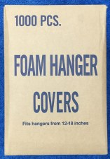 Foam Hanger Covers-Charcoal-Black-9 7/8''x8 3/4''x14''