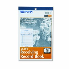 Receiving Record Book-3 part-5 1/2''x 7 7/8''