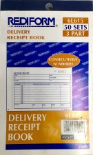 Delivery Receipt Book-3 part-4 1/4''x7''
