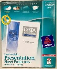 Sheet Protector-Heavy Duty-8 1/2''x11''