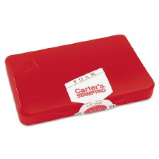 Carter's Foam Stamp Pad-Red-2 3/4''x4 1/4''