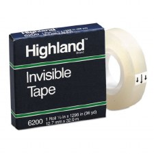 "Transparent Tape-Highland-1/2"" x 36 yds"
