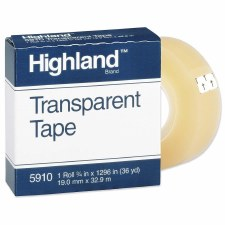 "Transparent Tape-Highland-3/4"" x 36 yds"