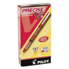 Ball Pen-Pilot-Extra Fine Point-0.5 mm-Red
