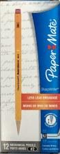 Sharpwriter Mechanical Pencils-Paper Mate-0.7 mm-Yellow Barrel