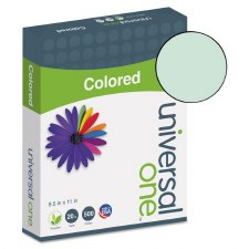 Universal Colored Paper-20lb-8-1/2 x 11-Green