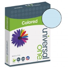 Universal Colored Paper-20lb-8-1/2 x 11-Blue