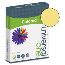 Universal Colored Paper-20lb-8-1/2 x 11-Goldenrod