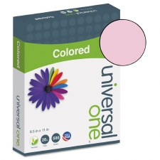 Universal Colored Paper-20lb-8-1/2 x 11-Pink