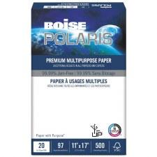 """Boise POLARIS Premium Multipurpose Pape (24lbs)-11"""" x 17"""" -Hammermill"""