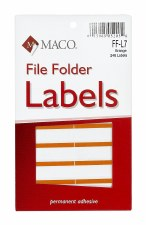 File Label-orange