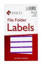 File Label-purple