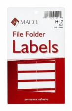 File Label-red