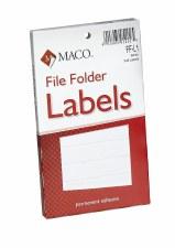 File Label-white