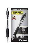 Gel Pen-retractable-0.7mm-blk
