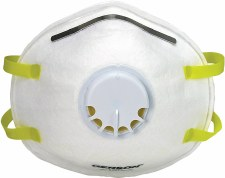 Gerson 1740 N95 Exhalation Valve Disposable Respirator Masks