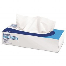Boardwalk BWK6500 White 2 Ply Facial Tissue