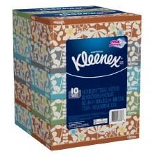 Kleenex 2-Ply White Facial Tissue-10 Count
