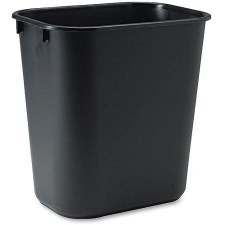 Rubbermaid Commercial Plastic Wastebasket 3.5 gal