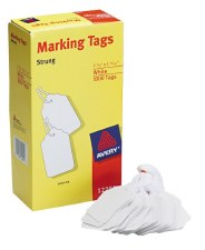 White Shipping Tag-2 3/4 x 1 11/16-1000/pcs