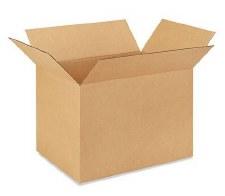 Shipping box-21 3/8 x 15 5/8 x 15 3/4