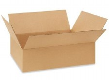Shipping box-21 3/8 x 15 5/8 x 6 3/8