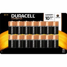 Batteries (duracell)-d 14  Ct