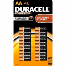 Batteries (duracell)-aa-40 Ct