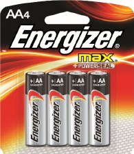 Batteries (energizer)-aa-4 Ct