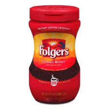 Folgers Instant Coffee Crystals Classic Roast-16 oz